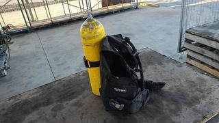 Assorted Scuba Gear Tanks, Jackets, Regs Camping,  Outdoor Photo
