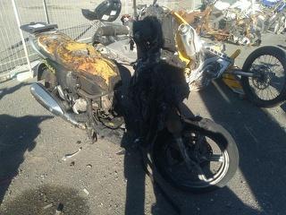 2012 Aprilia 180cc Motorcycle Photo