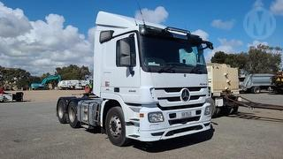 2015 Mercedes-Benz Actros Cab Chassis Prime Mover GCM 55,000kg Photo
