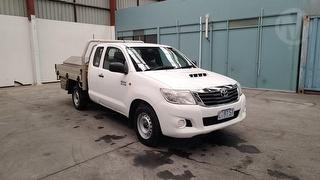 2012 Toyota Hilux 150 SR 2D X-cab Chassis Photo