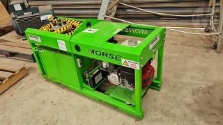 Morse Cable Drum Winch Photo