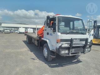 1993 Isuzu FVR900 Long Crane Truck GCM 24,000kg Photo