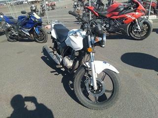 2017 Honda 124cc Motorcycle Photo
