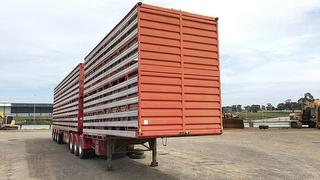 2008 Byrne Cattle A Trailer (A and B trailer combination) ATM 39,000kg Photo