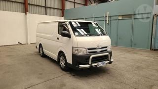 2012 Toyota Hiace 200 LWB 4D Van Photo