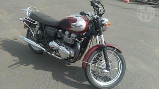 2007 Triumph Bonneville Motorcycle Photo