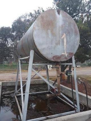 Custom Fuel Tank Photo