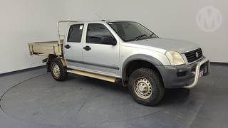 2004 Holden Rodeo RA LX 4D Dual Cab Chassis Photo