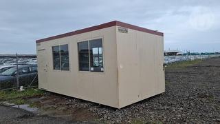 Custom 6 X 3 Portable Building Photo