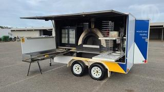 2016 Mobile Wood Oven Pizza Trailer Photo
