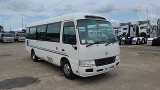 2011 Toyota Coaster XZB50R Bus GVM 4,990kg Photo