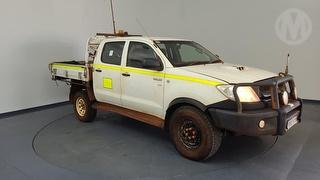 2009 Toyota Hilux 150 SR Dual Cab Chassis Photo