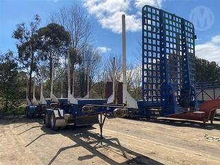2014 Elphinestone Tandem Airrider Jinker Log Trailer A/LEAD TRAILE ATM 34,000kg Photo