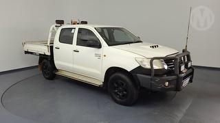 2012 Toyota Hilux 150 SR 4D Dual Cab Chassis Photo