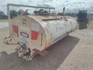 G Tregoning Water Tank Photo
