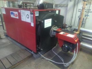 2009 ICI Caldair REX 95F Gas Water Boiler Photo
