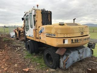 2002 Liebherr 316 Litronic Loader (Wheeled) 16 Ton L *** MT Maunganui *** Photo
