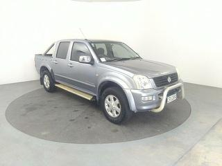 2005 Holden Rodeo 4X4 LT Crew PU 3.5 V6 M 4D Dual Cab Utility Dual Cab Photo