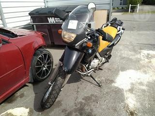 2002 BMW F650 GS Motorcycle Photo