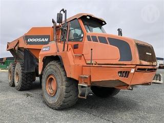 2012 Doosan DA40 Dump Truck Photo