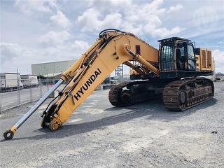 2012 Hyundai Robex 800LC-9 Excavator Offsite - Auckland Photo