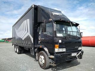 2001 Mitsubishi Fighter 6X2 14 Tonne Curtainside *** Athy Plc *** Selling Registered *** Has Eroad I Photo