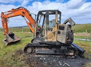 2018 Hitachi ZX85US-5A Excavator *** Chatham Islands *** (offsite) Photo