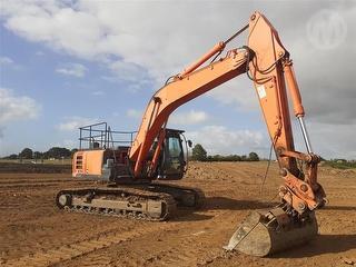 2013 Hitachi ZX240LC-5G (MMECCA) Excavator *** Auckland (Offsite) *** Photo