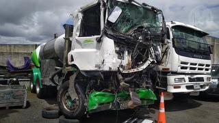 2015 DAF CF 85 Tanker (Milk) Truck *** Rotorua *** Major Cab Damage *** GVM 25,600kg Photo