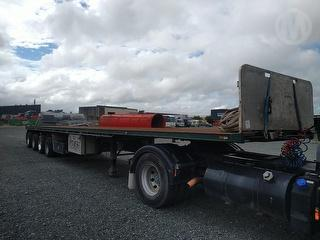 2009 Maxicube Freighter Flatdeck ST4-NST Flat Deck Trailer *** Athy Plc *** Selling Registered *** Photo