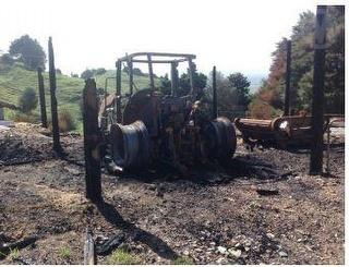 2016 Claas Arion Tractor Tractor *** Ngatea (offsite) *** Extensive Burnt OUT *** & FEL ** Photo