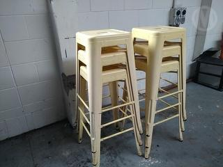 Factory Built (MBLSLA) Catering bar Stools *** Manukau *** Photo