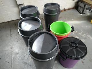 Factory Made Plastic (MBLSLA) Catering Rubbish Bins *** Manukau *** Photo