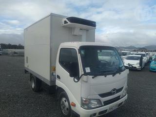 2014 Hino 300 XZU605R-HKMMSQ3 Box Body Chiller Truck *** Christchurch *** Photo