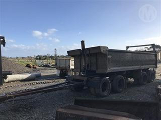 1992 Patchell 4 Axle Tipping Trailer Photo