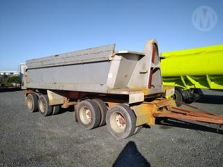 1999 Trailer Morgan 4atip Limerock Tipping Trailer *** Athy plc *** Selling Registered *** Photo