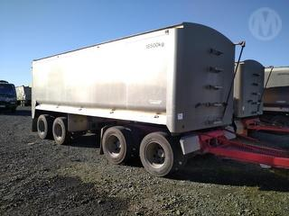 2000 Trailer Morgan 4A Limerock Tipping Trailer *** Athy plc *** Selling Registered *** Photo