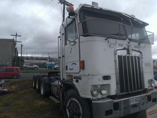 1993 Kenworth K1OOE 8X6 Truck *** Whangarei *** Stolen & Recovered *** GVM 33,100kg Photo
