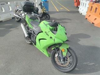2010 Kawasaki ex 250j Motorcycle Photo
