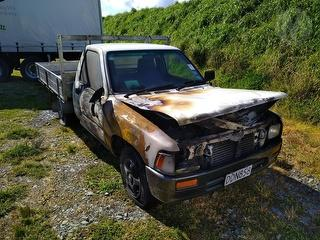 1997 Toyota Hilux Utility Photo