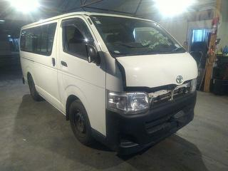 2013 Toyota Hiace ZL 2.7P 4A 3 Seat Van Photo