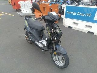 2008 Moped Aspero Sabre R-50 Scooter Photo
