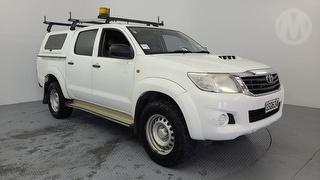 2013 Toyota Hilux 4WD 3.0TD DC UTE 5M 4D Dual Cab Utility Photo