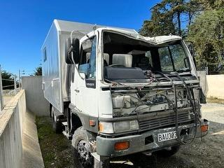 1991 Hino Ranger FT3H 4X4 Motorhome *** Timaru *** GVM 9,000kg Photo