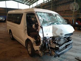 2015 Toyota Hiace High Roof Van Photo