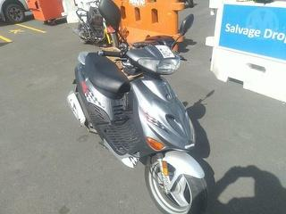 2012 Factory Built Adly Silverfox Scooter Photo