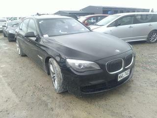 2012 BMW 750i Sedan Photo